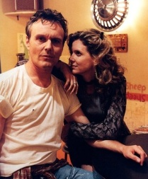 Buffy behind the scenes